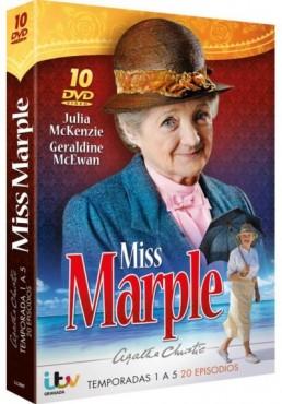 Pack Agatha Christie - Miss Marple - 1ª A 5ª Temporada