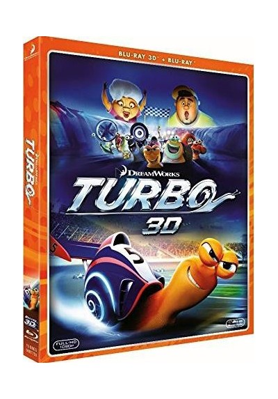 Turbo (Blu-Ray 3d + Blu-Ray)