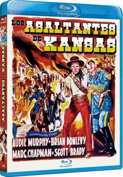 Los Asaltantes De Kansas (Blu-Ray) (Kansas Raiders)
