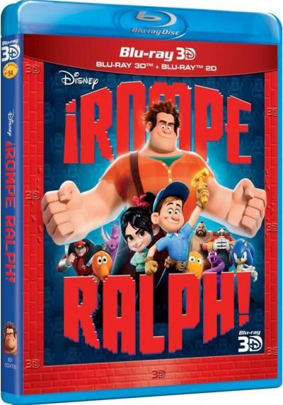 Rompe Ralph! (Blu-Ray 3d + Blu-Ray) (Wreck-It Ralph)
