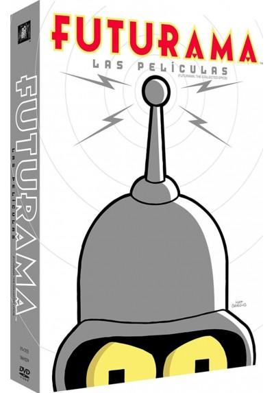 Pack Futurama - Las Peliculas