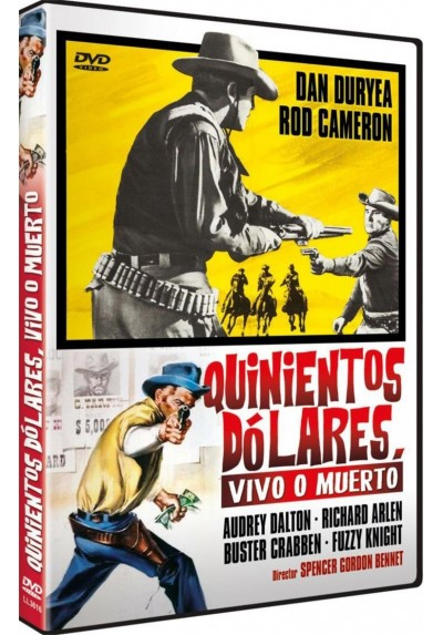 Quinientos Dolares Vivo O Muerto (The Bounty Killer)