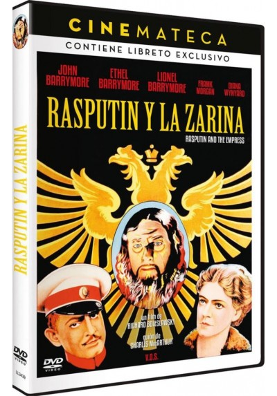 Cinemateca: Rasputin Y La Zarina (V.O.S.) (Rasputin And The Empress)