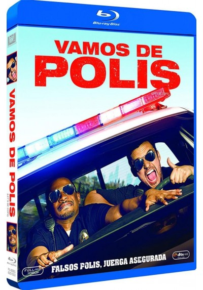 Vamos De Polis (Blu-Ray) (Let´s Be Cops)
