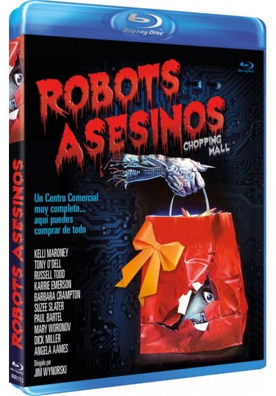 Robots Asesinos (Chopping Mall) (Bd-R) (Blu-Ray)