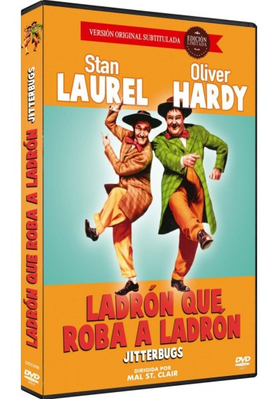 Ladron Que Roba A Ladron (Dvd-R) (Jitterbugs