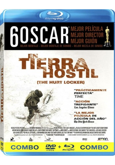 En Tierra Hostil (Blu-Ray + Dvd) (The Hurt Locker)