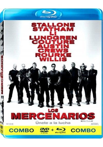 Los Mercenarios (Blu-Ray + Dvd) (The Expendables)