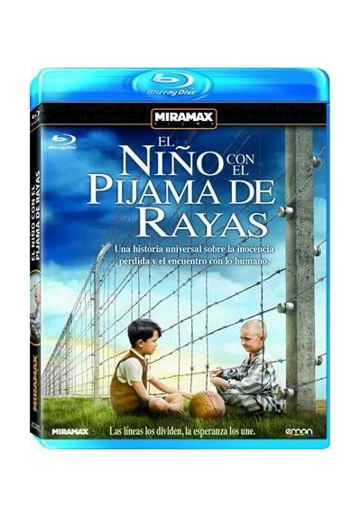 El Niño Con El Pijama De Rayas (Blu-Ray) (The Boy In The Striped Pyjamas)