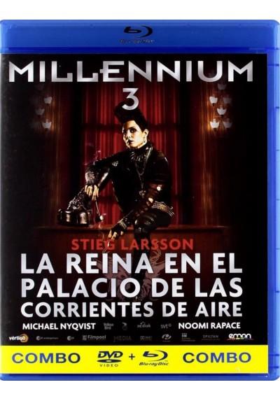Millennium 3 : La Reina En El Palacio De Las Corrientes De Aire (Blu-Ray + Dvd) (Luftslottet Som Sprängdes)