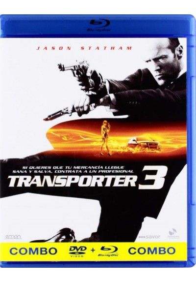 Transporter 3 (Blu-Ray + Dvd) (The Transporter 3)