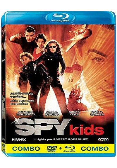 Spy Kids (Blu-Ray + Dvd)