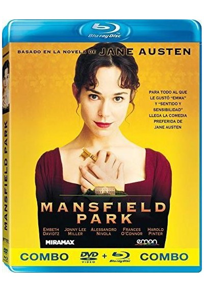 Mansfield Park (1999) (Blu-Ray + Dvd)