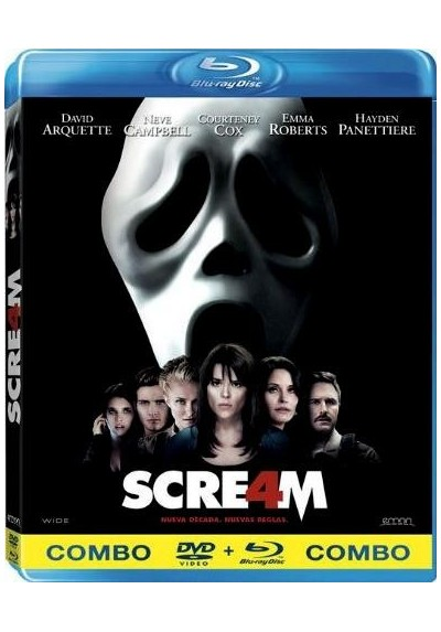Scream 4 (Blu-Ray + Dvd)