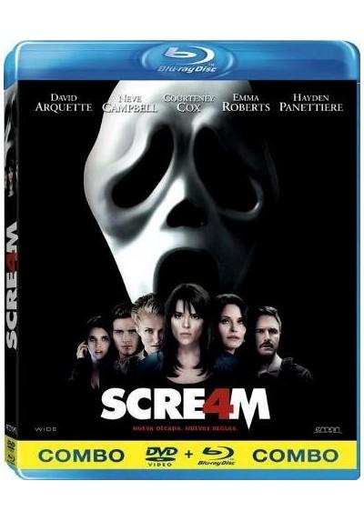 Scream 4 (Blu-Ray + Dvd)