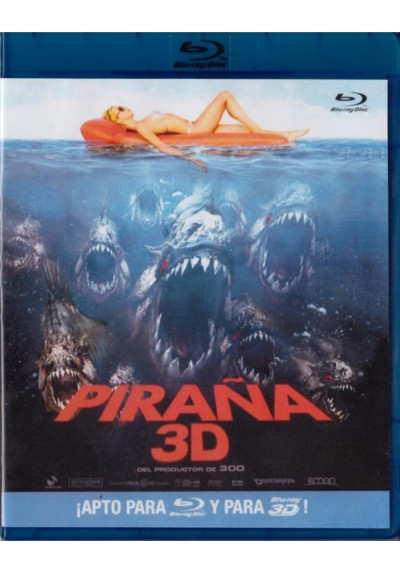 Piraña (2010) (Blu-Ray) (3d) (Piranha)