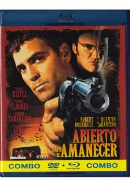 Abierto Hasta El Amanecer (Blu-Ray + Dvd) (From Dusk Till Dawn)