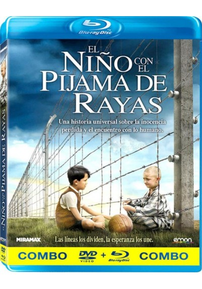 El Niño Con El Pijama De Rayas (Blu-Ray + Dvd) (The Boy In The Striped Pyjamas)