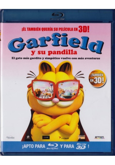 Garfield Y Su Pandilla (Blu-Ray 3d + Blu-Ray) (Garfield´s Pet Force)