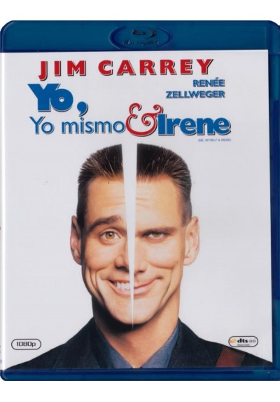 Yo, Yo Mismo E Irene (Blu-Ray) (Me, Myself & Irene)