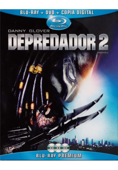 Depredador 2 (Blu-Ray + Dvd + Copia Digital) (Predator 2)