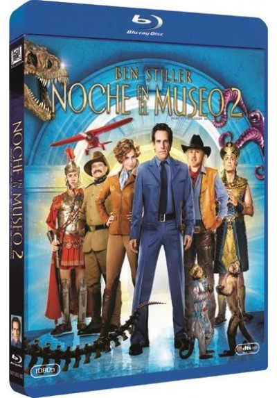 Noche En El Museo 2 (Blu-Ray) (Night At The Museum 2: Battle Of The Smithsonian)