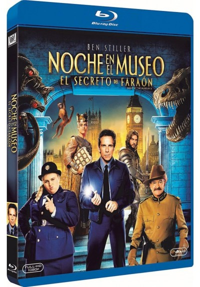 Noche En El Museo 3 : El Secreto Del Faraon (Blu-Ray) (Night At The Museum: Secret Of The Tomb)