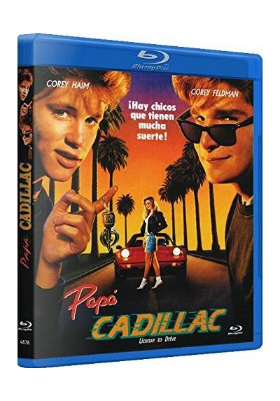 Papa Cadillac (Blu-Ray) (License To Drive)
