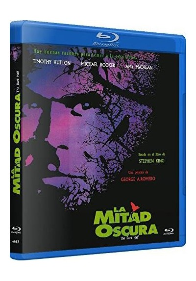 La Mitad Oscura (Blu-Ray) (The Dark Half)
