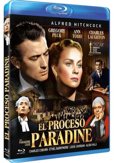 El Proceso Paradine (Blu-Ray) (The Paradine Case)