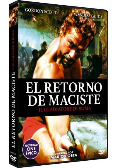 El Retorno De Maciste (Il Gladiatore Di Roma) (Dvd-R)