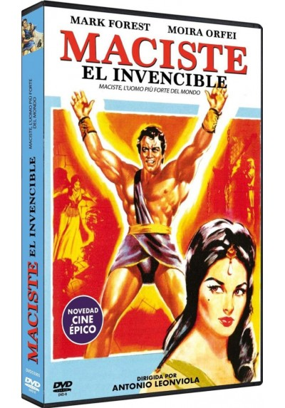 Maciste El Invencible (Maciste, L'Uomo Più Forte Del Mondo) (Dvd-R)