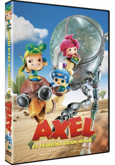 Axel: El Pequeño Gran Heroe (Axel: The Biggest Little Hero) (Ed.Castellano)