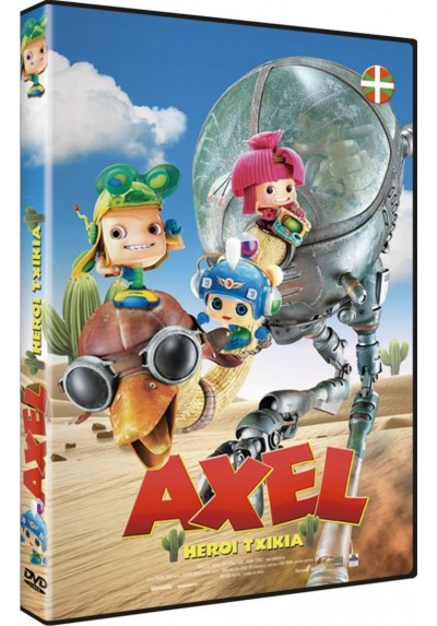 Axel: Heroi Txikia (Axel: The Biggest Little Hero) (Ed. Euskera)