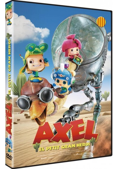 Axel: El Pequeño Gran Heroe (Axel: The Biggest Little Hero) (Ed.Catalana)