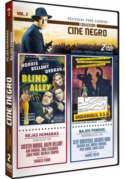 Coleccion Cine Negro: Rejas Humanas (Blind Alley) 1939 + Bajos Fondos (Underworld U.S.A.) 1961 Vol. 2
