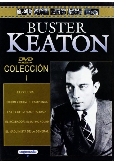 Pack Buster Keaton - Coleccion 1