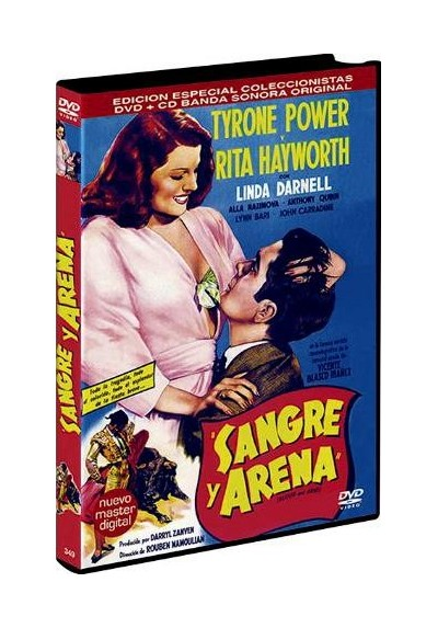 Sangre Y Arena + B.S.O. (1941) (Blood And Sand)