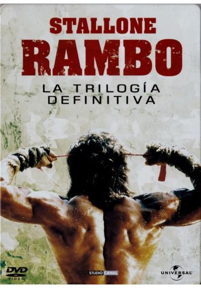 Pack Rambo - La Trilogia Definitiva (Ed. Metalica)