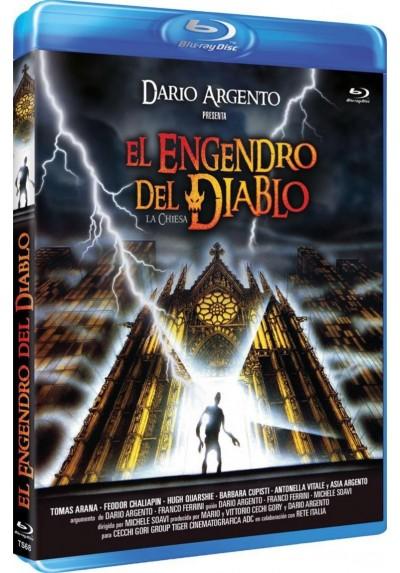 El Engendro Del Diablo (Blu-Ray) (La Chiesa)