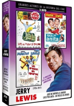 Pack Jerry Lewis : Grandes Actores De La Historia Del Cine