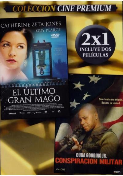 El Ultimo Gran Mago (Death Defying Acts) + Conspiracion Militar (The Way Of War) (Estuche Slim)