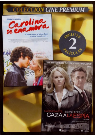 Carolina Se Enamora (Amore 14) + Caza A La Espia (Fair Game) (Estuche Slim)