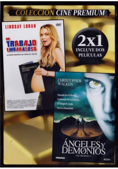 Un Trabajo Embarazoso (Labor Pains) + Angeles Y Demonios (1995) (The Prophecy) (Estuche Slim)