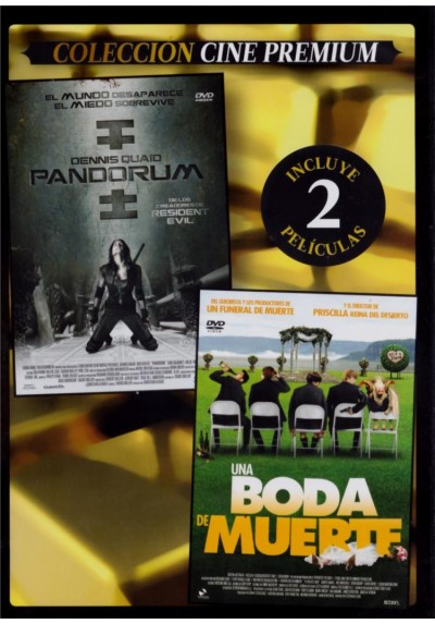 Pandorum + Una Boda De Muerte (A Few Best Men) (Estuche Slim)