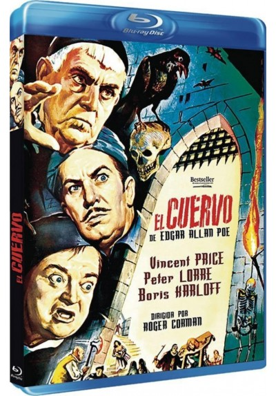 El Cuervo (Blu-Ray) (The Raven)
