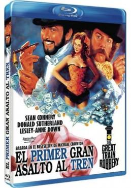 El Primer Gran Asalto Al Tren (Blu-Ray) (The First Great Train Robbery)