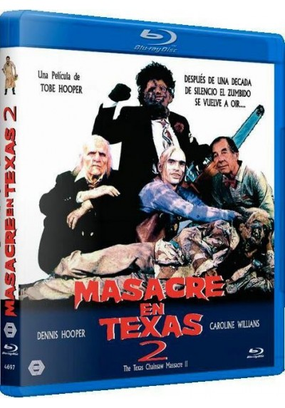 Masacre en Texas 2 (The Texas Chainsaw Massacre Part 2) (Blu-ray)