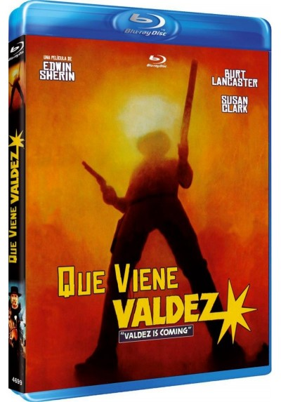 Que Viene Valdez (Valdez Is Coming) (Blu-ray)