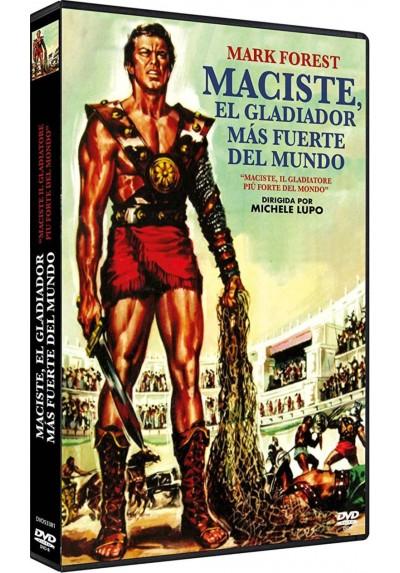 Maciste, El Gladiador Más Fuerte Del Mundo (Dvd-R)  (Maciste, Il Gladiatore Più Forte Del Mondo)
